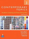 Contemporary Topics 3: Academic Listening and Note-Taking Skills (Student Book and Classroom Audio CD) (3rd Edition) - David Beglar, Neil Murray