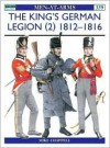The King's German Legion (2) 1812–1816 - Mike Chappell