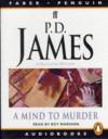 A Mind To Murder - Roy Marsden, P.D. James