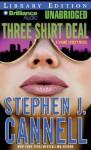 Three Shirt Deal - Scott Brick, Stephen J. Cannell