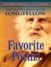 Favorite Poems (Dover Thrift Editions) - Henry Wadsworth Longfellow
