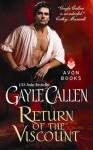 Return of the Viscount - Gayle Callen