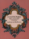 Symphonies Nos. 8 and 9 in Full Score (Dover Music Scores) - Ludwig van Beethoven