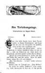Am Verlobungstage - 1903 - 12 Original-Scan von 1903 - Auguste Groner