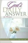 God's Daily Answer: Women - Thomas Nelson Publishers, Jack Countryman