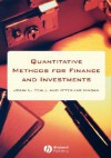 Quantitative Methods For Finance And Investments - John Teall, Iftekhar Hasan
