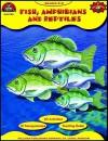 Fish, Amphibians & Reptiles - Edward P. Ortleb, Edward Ortleb, Richard Cadice, Donald O'Connor