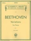 Variations - Book 1: Piano Solo - Ludwig van Beethoven, von Bulow