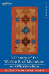 A Library of the World's Best Literature - Ancient and Modern - Vol.XXVI (Forty-Five Volumes); Molire-Myths - Charles Dudley Warner
