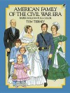 American Family of the Civil War Era Paper Dolls - Tom Tierney