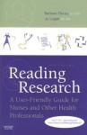 Reading Research: A User-Friendly Guide for Nurses and Other Health Professionals, 4e - Barbara Davies
