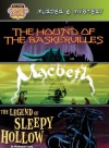 Murder & Mystery: The Hound of the Baskervilles/Macbeth/The Legend of Sleepy Hollow (Bank Street Graphic Novels) - Monica Rausch, Tea Benduhn