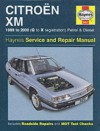 Citroen XM Service & Repair Manual - Steve Rendle