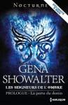 La porte du destin: Série Les Seigneurs de l'Ombre - Prologue (Nocturne) - Gena Showalter