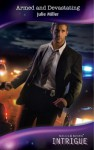 Armed and Devastating (Mills & Boon Intrigue) (The Precinct: Brotherhood of the Badge - Book 2) - Julie Miller
