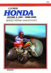 Honda Atc 185 and 200, 1980-1986: Service, Repair, Maintenance (Clymer All-Terrain Vehicles) - Ed Scott