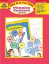 Phonics Centers: Level B: Grade K-1 - Jo Ellen Moore, Jill Norris