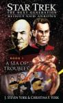 Star Trek: The Next Generation: A Sea of Troubles - J. Steven York, Christina F. York