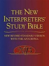 The New Interpreter's Study Bible: New Revised Standard Version With the Apocrypha - Walter J. Harrelson, Phyllis Trible, James C. Vanderkam, Donald Senior, Abraham Smith