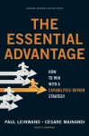 The Essential Advantage: How to Win with a Capabilities-Driven Strategy - Paul Leinwand, Cesare R. Mainardi, James Levine