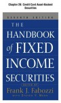 The Handbook of Fixed Income Securities, Chapter 28 - Credit Card Asset-Backed Securities - Frank J. Fabozzi