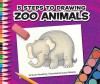 5 Steps to Drawing Zoo Animals - Susan Temple Kesselring, Susan Desantis