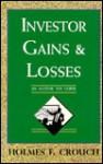 Investor Gains & Losses - Holmes F. Crouch, Irma J. Crouch, Barbara J. MacRae