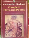 Complete Plays and Poems (University Library) - Christopher Marlowe