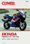 Clymer Honda: Cbr600 F2 and F3 1991-1998 - Clymer Publishing