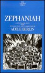 Zephaniah (Anchor Bible Series, Vol. 25A) - Adele Berlin
