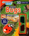 Discovery Kids 3D Sticker Fun: Busy Bugs (Discovery 3d Sticker Scene) - Parragon Books