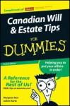 Custom Canadian Will and Estate Tips for Dummies (Sykes Edition) - Margaret Kerr, JoAnn Kurtz