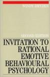 Invitiation to Rational Emotive Behavioural Psychology - Windy Dryden