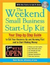 The Weekend Small Business Start-Up Kit [With CDROM] - Mark Warda