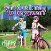 What Does It Mean to Go Green? - Molly Aloian