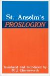 Proslogion - Anselm of Canterbury, Max J. Charlesworth