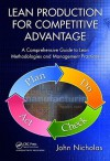Lean Production for Competitive Advantage: A Comprehensive Guide to Lean Methodologies and Management Practices - John Nicholas