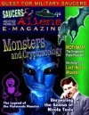 Saucers and Aliens Magazine. - Nick Pope, UFO GUY, William Knell