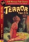 Terror Tales Arthur J. Burks, Book 2 - Arthur J. Burks, RadioArchives.com, Will Murray