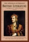 The Longman Compact Anthology of British Literature, Volume B - David Damrosch, Susan J. Wolfson, Peter J. Manning, Christopher Baswell