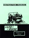 Land Rover Ser 1/2 Instruc Mnl - Brooklands Books Ltd