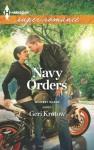 Navy Orders - Geri Krotow