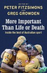 More Important than Life or Death: Inside the Best of Australian Sport - Peter FitzSimons, Greg Growden