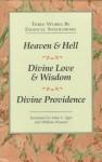 Emanuel Swedenborg-3 Vol. Boxed Set: Heaven and Hell, Divine Love and Wisdom, Divine Providence - Emanuel Swedenborg, John C. Ager, William Wunsch