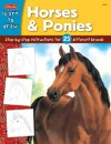 Horses & Ponies: Step-by-step instructions for 25 different breeds - Walter Foster Publishing, Russell Farrell (Illustrator), Russell Farrell