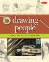 Drawing People Kit: A Complete Drawing Kit for Beginners - Debra Kauffman Yaun