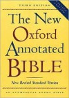 The New Oxford Annotated Bible, New Revised Standard Version - Anonymous, Michael D. Coogan