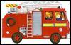 Jumbo Shaped Board Books: Fire Engine - Barrie Watts