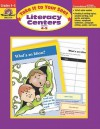 Take It to Your Seat: Literacy Centers : Grades 4-5 (Take It to Your Seat Literacy Centers) - Jill Norris