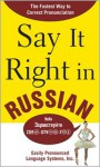 Say It Right in Russian - Clyde Peters